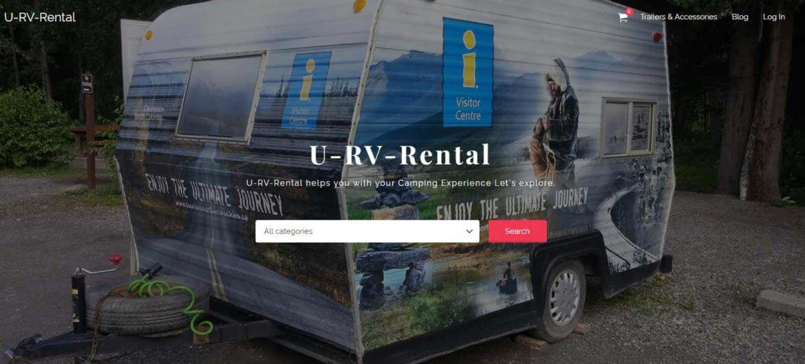 Web Design for Rental